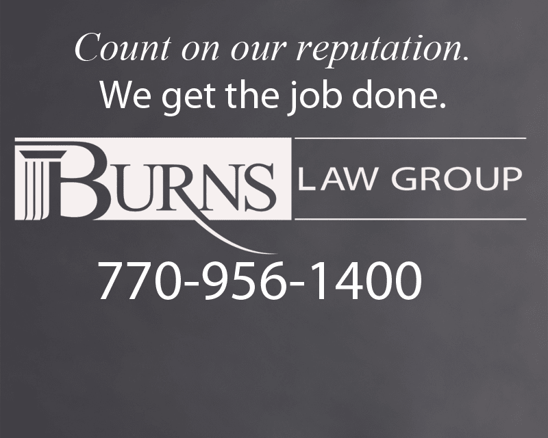 Burns Law Group is located in Canton, Cherokee County, Georgia